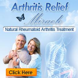 Arthritis relief book cover