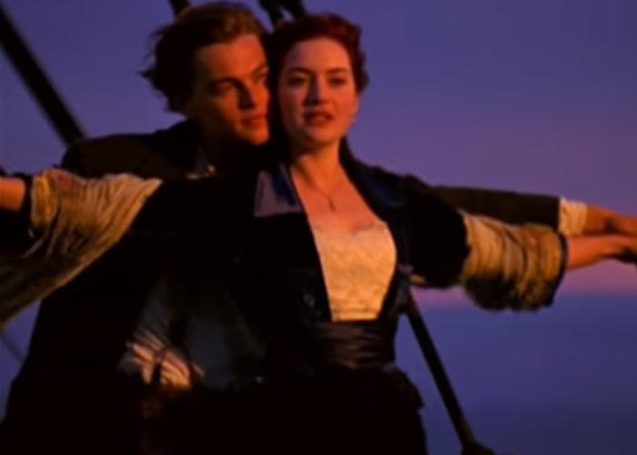Titanic-scene
