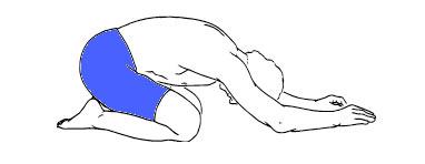 Kneeling-back-stretch