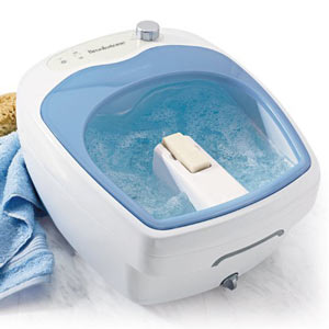 Brookstone Heated Aqua Jet Foot Spa – My Review