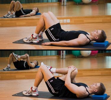 Hip flex stretch