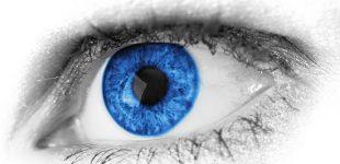 swollen cornea due to fluid build up