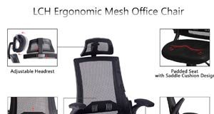 LCH Ergonomic High Back Mesh Office Chair